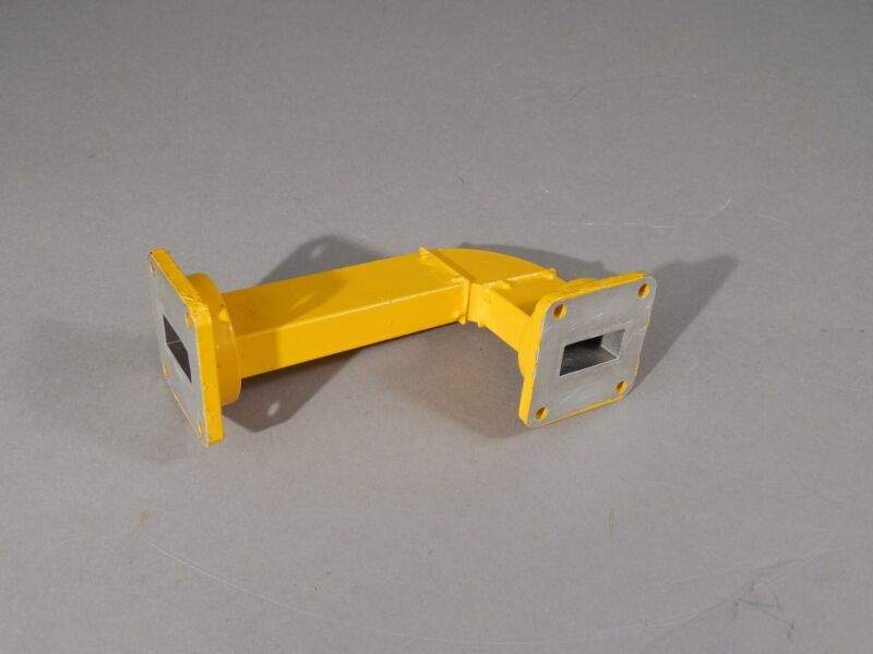 AAI WR90 Waveguide Assembly 5339 041021 NSN: 5985-00-043-3700