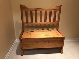 Entry Wood Bench