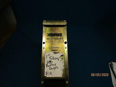 Rowe Bc 1200 1400 3500 Coin Changer Hopper Hi-capacity Rebuilt Tested 1 Token