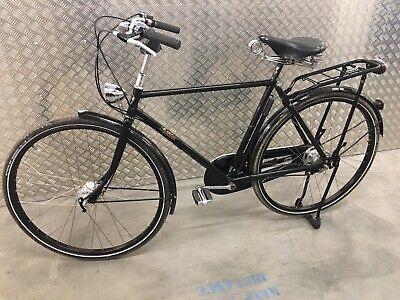 Pashley Roadster Sovereign Black Gents Traditional Bicycle