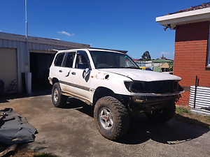 Wrecking 105 gxl landcruiser fzj Glenorchy Glenorchy Area Preview
