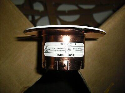 """STAR PHANTOM White Concealed Fire Sprinkler Plate 135*F 3-1//4/"""" Diameter 1"""