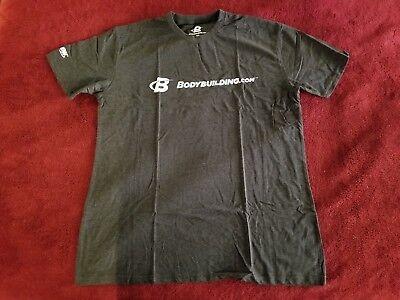 Bodybuilding Com Shirt Classic Charcoal Xl