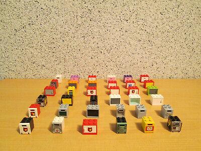 LEGO 36 Schränke,Boxen,Kisten,Safe,Briefkästen*bunter Mix *H030* (Bunte Safe)
