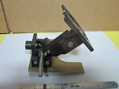 Polyvar Leica Reichert Mirror Assembly Microscope Optics As Is Bing4i