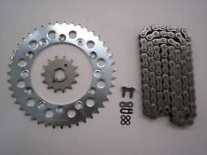 HONDA XR600R XR 600 R SPROCKET 14/50 & EK SRO-5 O-RING CHAIN SET 1988-1990 SLV