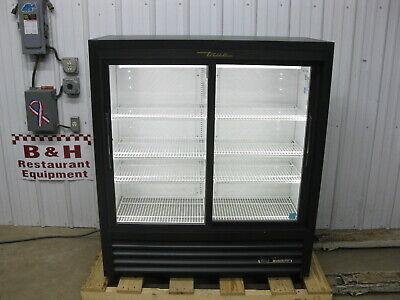True Gdm-41sl-54-hc-ld Glass Sliding Two 2 Door Merchandiser Refrigerator Cooler