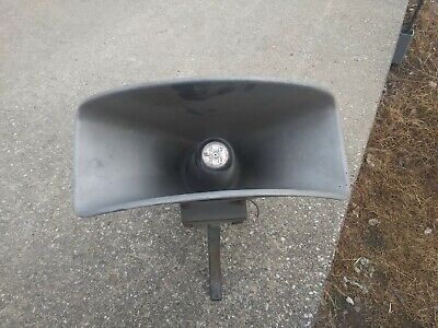 Vintage Federal Sign Signal Pa Siren Speaker Model Cj 24 Series A3
