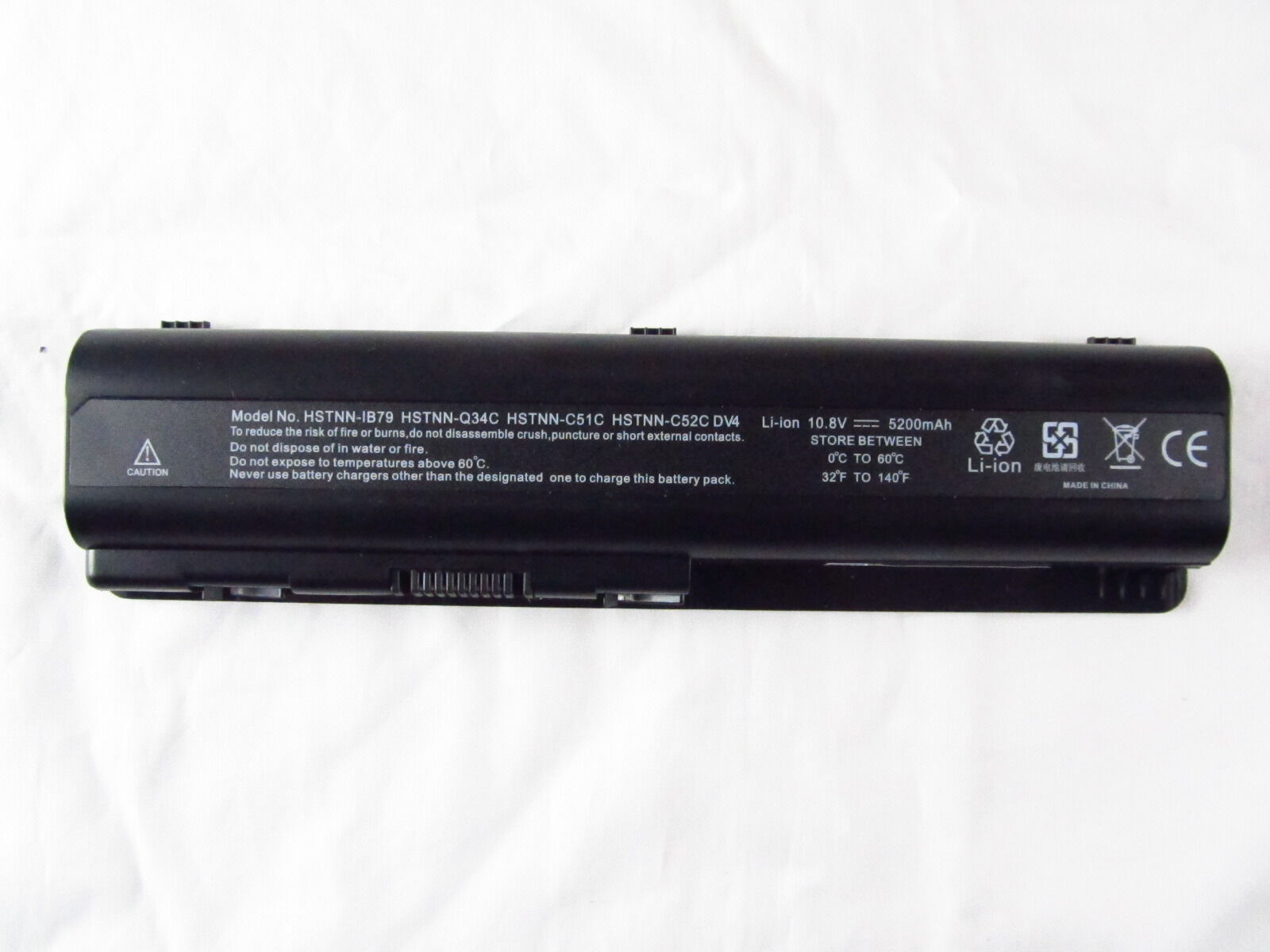 Extended-life Spare Battery For Hp Compaq 484170-001 Laptop