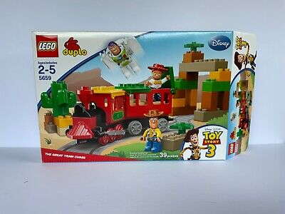 LEGO Duplo Toy Story 3 The Great Train Chase 5659 With Instructions