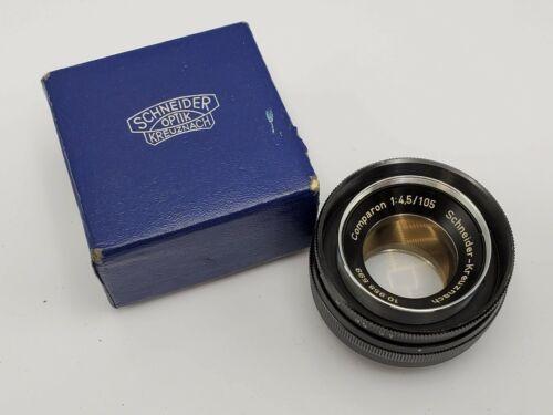 Schneider Kreuznach Comparon 105mm F4.5 Enlarging Lens in Box - 32.5mm w/ Flange