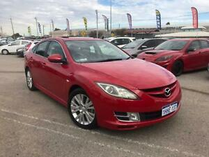 2008 Mazda 6 GH Luxury Red 5 Speed Auto Activematic Hatchback Petrol Cannington Canning Area Preview