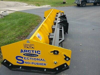 10.5 Ld Arctic Sectional Snow Pusher. Snow Plow Box Plow Brand New