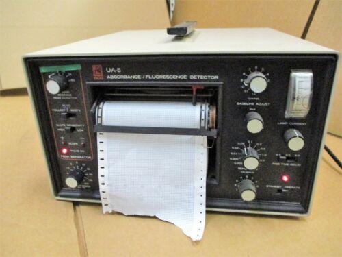 ISCO UA-5 Absorbance / Flourescence Detector Chart Recorder