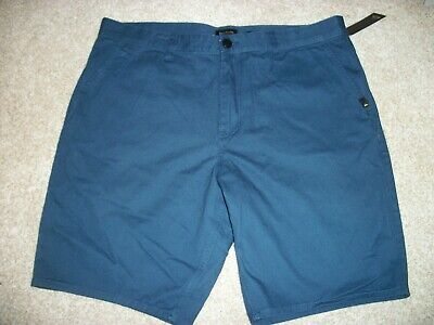 QUIKSILVER New NWT Mens Casual Walk Shorts Straight Fit Blue - Quiksilver Walkshorts