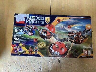 Lego 70314 Nexo Knights Beast Master's Chaos Chariot MISB Factory Sealed 2016