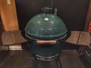 big green egg outdoor cooking eating ebay. Black Bedroom Furniture Sets. Home Design Ideas