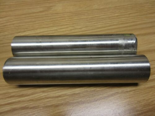 "(2)pcs 1-1/2"" Stainless Steel 304 1.500"" Round Bar 6"" Length"