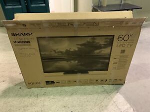 Sharp 60 Inch smart Tv never used