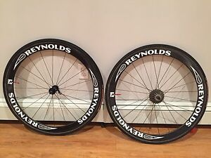 Reynolds tubular 46mm wheelset with cassette/tires