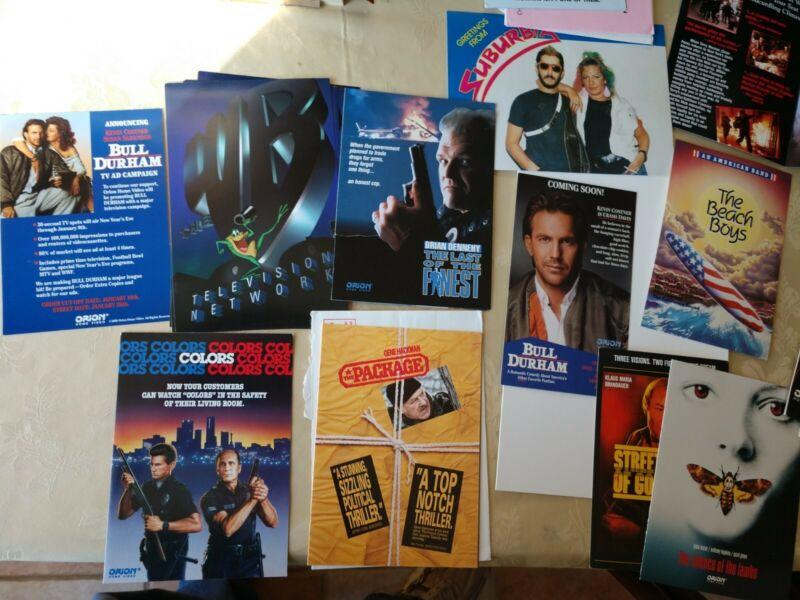 Vintage 90s movie promotional Postcard/Pop-up Display Cards - Rare