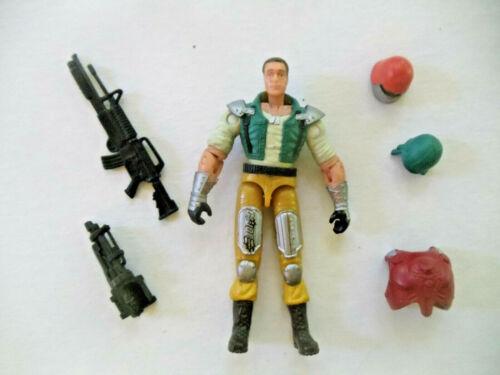 Switch Gears v1 GI Joe Tank Driver loose 2003 Spy Troops Cobra disguise Complete