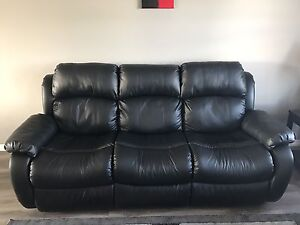 PENDING SALE - Omega 2 Bonded Leather Couches