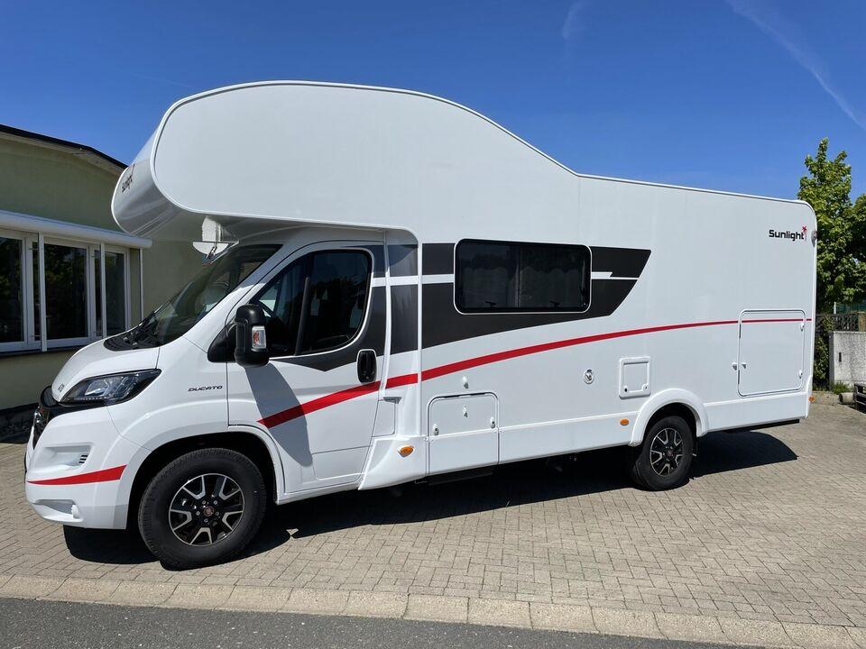 Wohnmobil Sunlight A70 2,3l 177PS Sat-TV Automatik ab 15.11.21 in Lohme Rügen