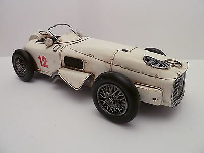 1954 MERCEDES BENZ FI WINNING RACING CAR TIN PLATE MODEL. GREAT MENS GIFT