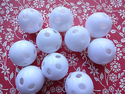 Rasselkugeln 10 Stück 24 mm Durchmesser zum Einnähen