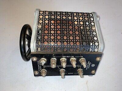 Powerstat Variable Transformer Variac Superior Electric. Type S649 230v 609a