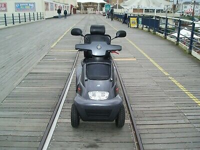 mobility scooter tga breeze s4 all terrain heavy duty 8 mph metalic gun metal