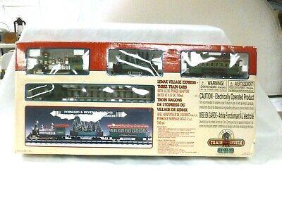 Lemax Village Express Electric Christmas Village Train Set Forward/Back only
