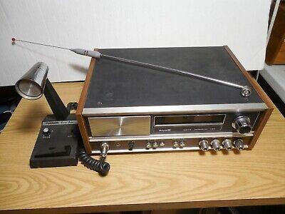 Royce Model 1-641 CB Radio Base Station 40 Channel w Turner Super Sidekick