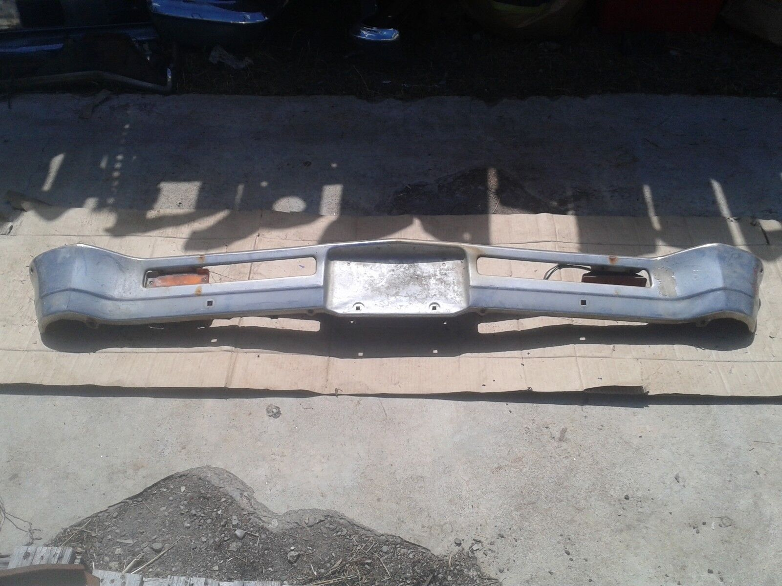 Used Chevrolet Nova Bumpers For Sale 1966 Chevy Ii 1967 Oem Front Bumper Bp0104