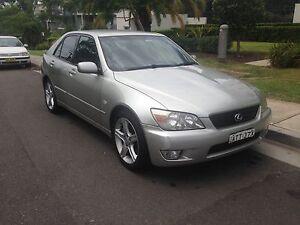 2002 Lexus IS200 Sedan Neutral Bay North Sydney Area Preview