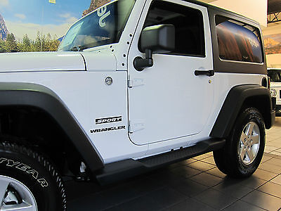 2007 2018 Jeep Wrangler 2 Door Jk Side Steps Running