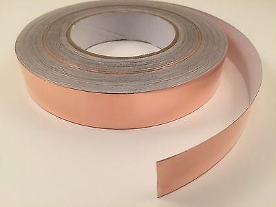 25mm X 50m Yards Copper Foil Tape- Emi Shielding- Conductive-165