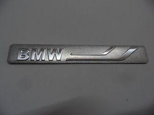BMW, Schriftzug Metall 3D Alu Aufkleber, Aluminium Sticker - Emblem Logo NEU.
