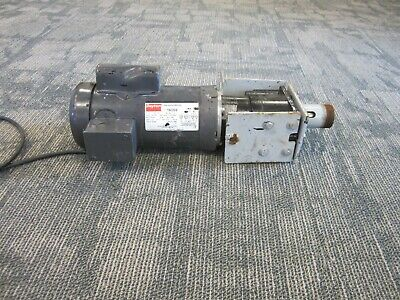 Dayton Electric Industrial Motor 1k059 With Parallel Shaft Reducer 1l511