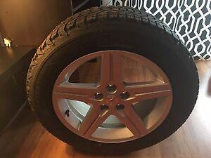 4 pneus hiver cloute sur magas camaro