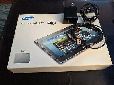 """Samsung Galaxy Tab 2 10.1"""" 16GB Wi-Fi Silver GT-P5113TS Extras"""