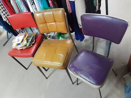 SEATS! Heaps available. CHEAP! chairs indoor sets Vintage retro