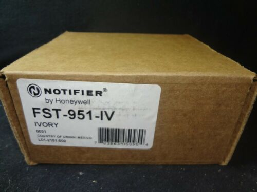 BRAND NEW NOTIFIER FST-951-IV LOW-PROFILE INTELLIGENT 135°F FIXED THERMAL SENSOR