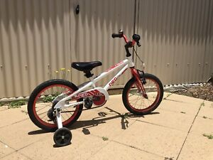 Boy/Girl Bike Neo 16 (Red/White)