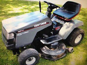 15 HP Craftsmen Tractor