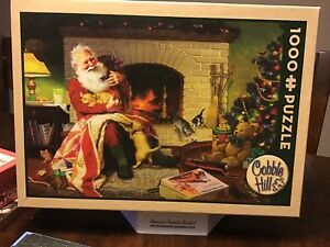 High Quality Cobble Hill 1000 Piece Jigsaw Puzzle Christmas