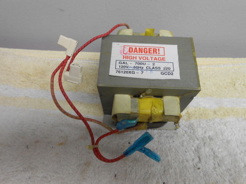 Hotpoint GE General Electric Microwave Oven High Voltage Transformer WB20X10040