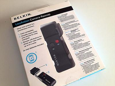 BELKIN Live Action Camera Remote iPod iPhone telecomando  Belkin Ipod Remote
