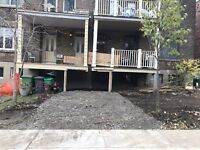 Excavation, Earth and site works, demolition, concrete forming &